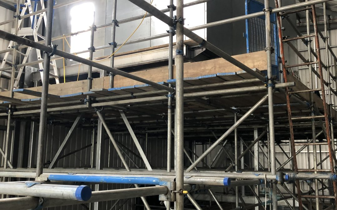 Avonmouth Energy Recovery Centre – Update 3 -Turbine Hall Extract Installation